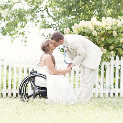 障礙者新郎新娘