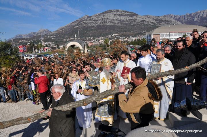 Бадњи дан прослављен у Црној Гори