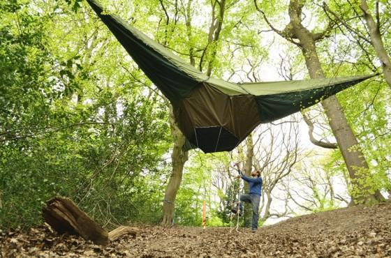 супер яка висяща палатка