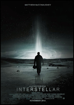 Interstellar 2014, movie theatre poster
