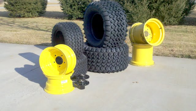 Tractor Tire Boots : New shoes for my mytractorforum the