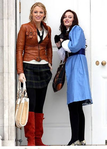 Blake Lively and Leighton Meester - Page 5 In-character