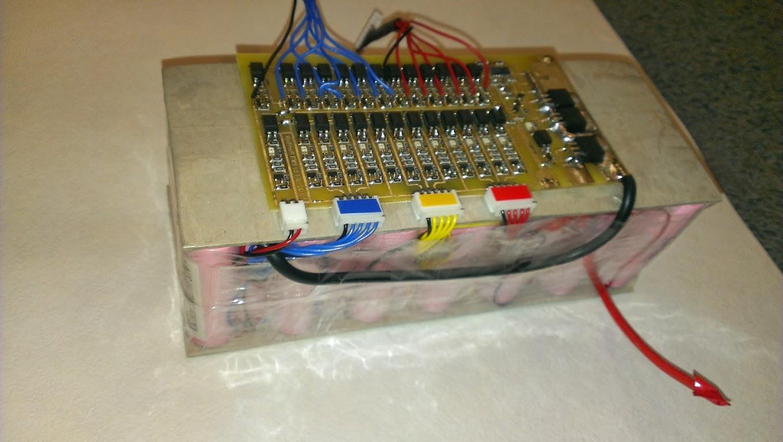 Моя пробная батарея на LG ICR18650 D1 3000mah