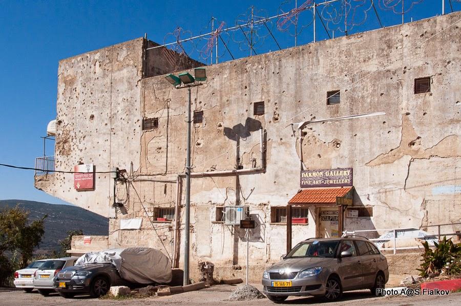 Цфат. Следы войны за Независимость. Экскурсия по Верхней Галилее. Гид в Израиле Светлана Фиалкова.