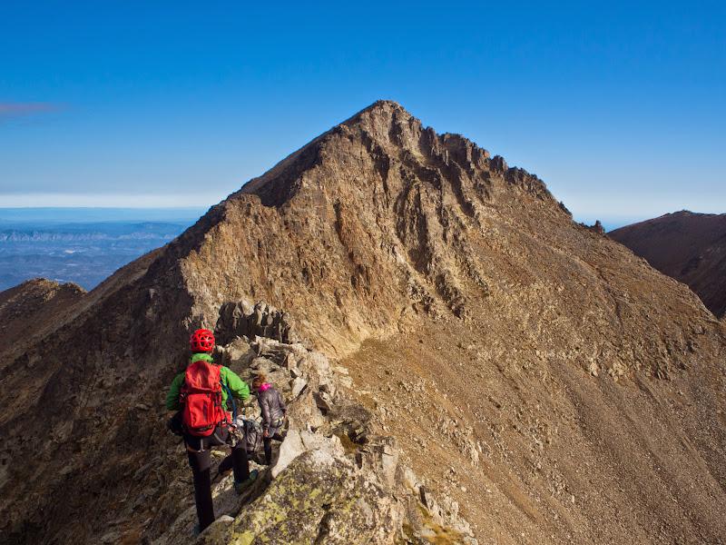 Cresta de Gasamir cap al Canigó