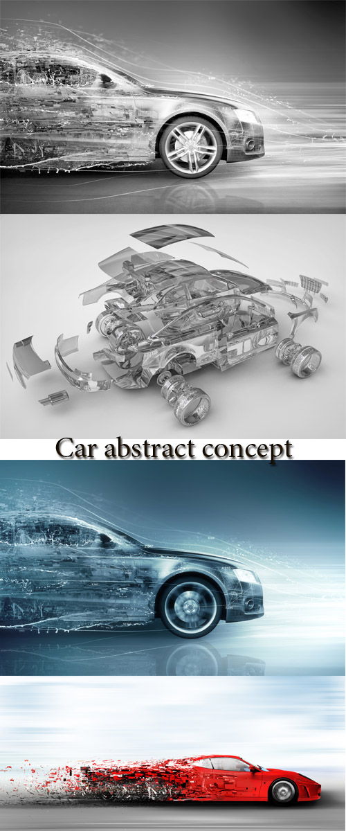 Stock Photo: Car abstract concept