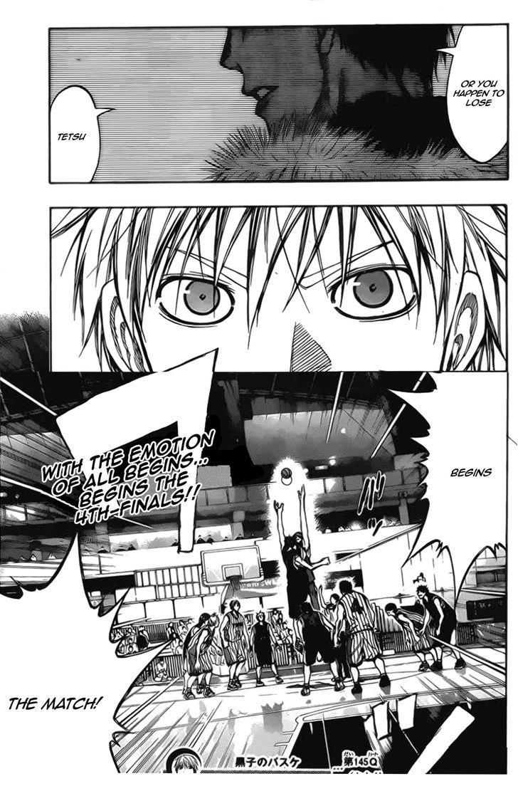 Kuroko no Basket Manga Chapter 145 - Image 19