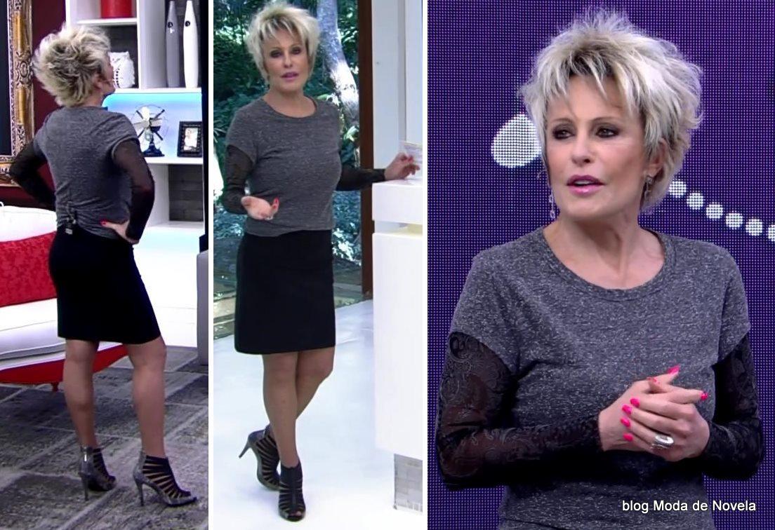 moda do programa Mais Você - look da Ana Maria Braga dia 8 de maio