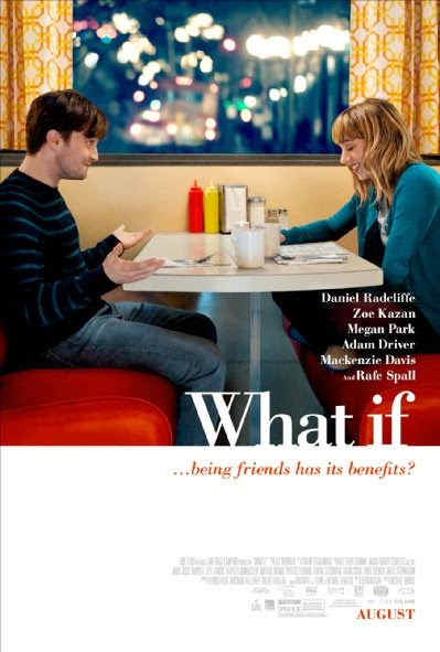 Poster Of English Movie What If (2013) Free Download Full New Hollywood Movie Watch Online At Alldownloads4u.Com