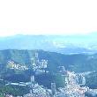 3 Východná časť Taipei, v pozadí sa črtá pohorie budujúce východnú časť ostrova.JPG