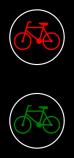 S-6  sygnalizator z sygnałami dla rowerzystów