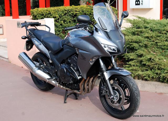 occasion honda cbf1000 abs grise 2012 6200kms vendue saint maur motos. Black Bedroom Furniture Sets. Home Design Ideas
