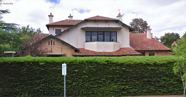 Northern elevation of Mrs Toms House, 333 Portrush Road, Toorak Gardens SA