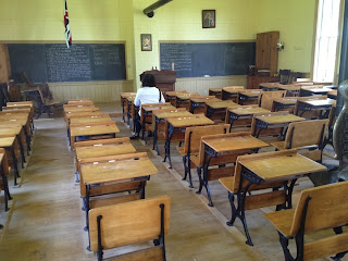 This 1861 Schoolhouse educated students until 1969.