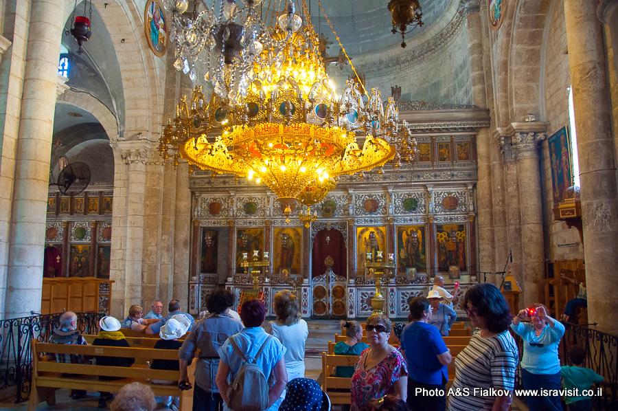 Лод, Израиль. Церковь Георгия Победоносца. Гид экскурсовод в Израиле Светлана Фиалкова.