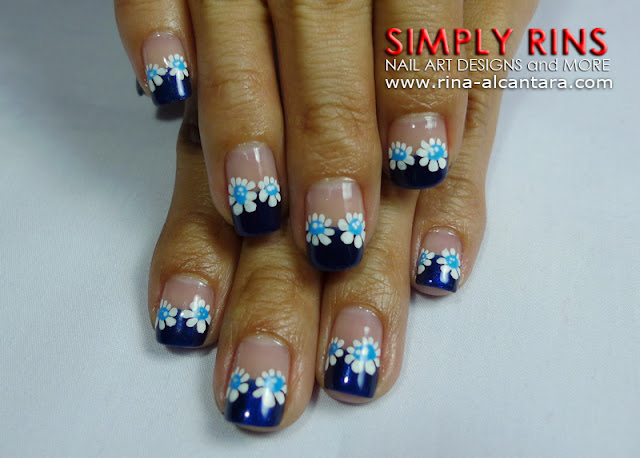 Feeling Blue Nail Art Design 05