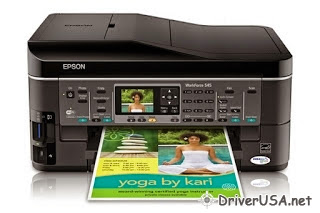 download Epson WorkForce 545 printer's driver