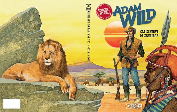 Il primo numero di Adam Wild