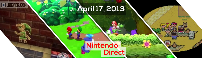 Nintendo Direct for april 17 2013 thumbnail