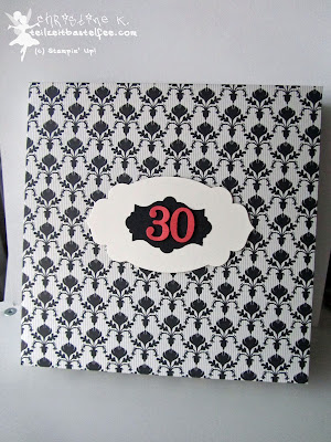 stampin up, black-white, box, birthday, apothecary accents, geburtstag, schachtel
