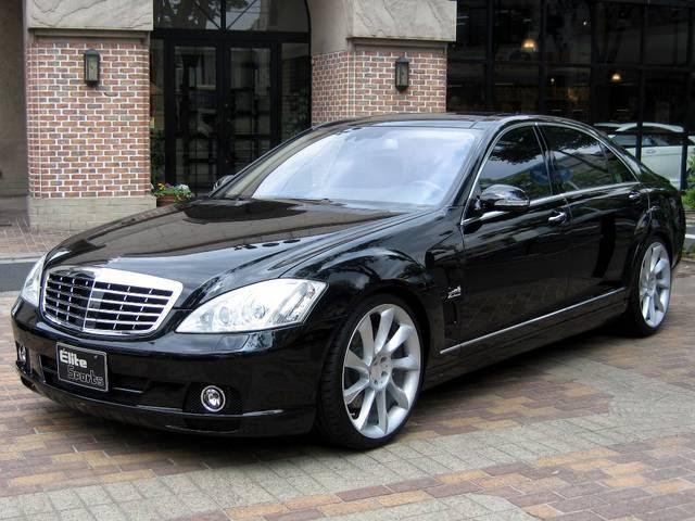 Mercedes Sls Amg Gt >> Mercedes-Benz L55S W221 Lorinser | BENZTUNING