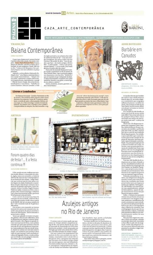 Página da Caza - 21 de Setembro de 2012