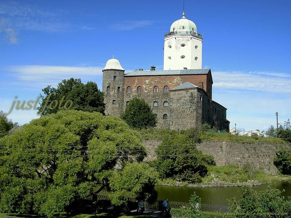 Выборг башня Святого Олафа фото