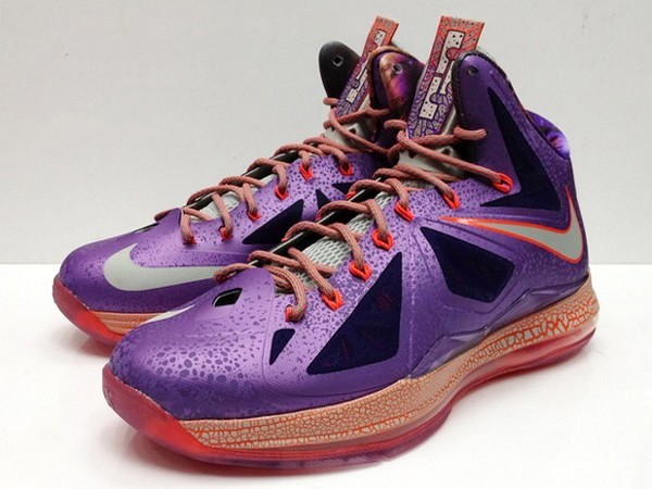 Lebron Shoes 10 Galaxy