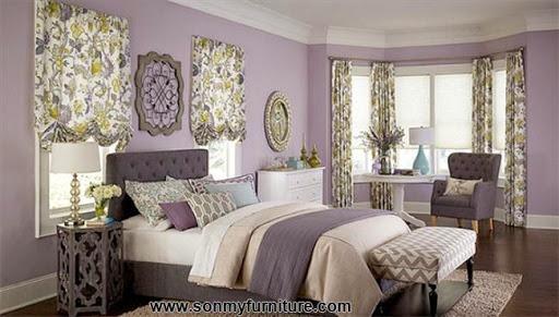 Rộn ràng hoa lá trong phòng ngủ mùa xuân hè_nội thất phòng ngủ-4