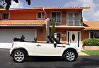 2008 MINI COOPER SIDEWALK CONVERTIBLE AUTOMATIC 50K MILE HEATED  NO TT BETTLE
