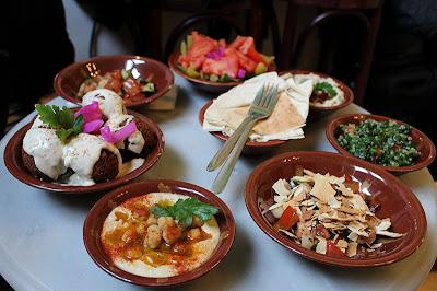 Meza echt libanesisch essen bei beirut beirut München