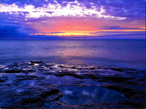 Sunrise Light on the Rocky Shores of Lake Michigan, Wisconsin.jpg