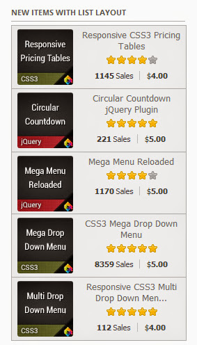 BAGONG ITEM SA LISTAHAN layout Pagpepresyo tumutugon CSS3 tumutugon Tables Pagpepresyo Table cssa 1145 Sales 54.00 Circular Pagbibilang ng Circular jQuery Plugin Countdown jouery 221 Sales 55.00 Mega Menu reload Mega Menu reload 1170 Sales 55.00 jQuery CSS3 Mega Drop Down Menu Down Menu 8359 Sales 55.00 tumutugon CSS3 Multi Multi I-drop Down Men. DownMenu 112 Sales 54.00