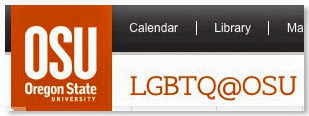 screen shot OSU LGBTQ web page Oct. 2014