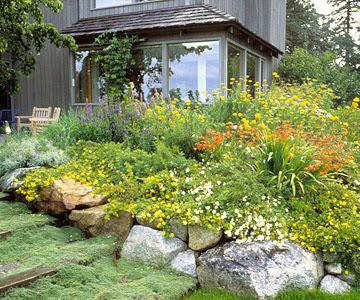 Muro di sostegno per terrazzo giardini giardino in - Scale per giardini ...