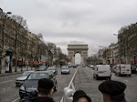The Arc from the Champs Elysees