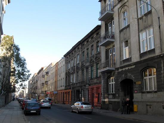 Łódź - zaniedbane kamienice