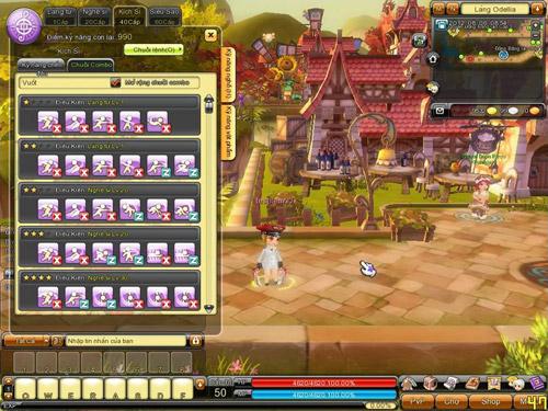 Dragonica tiết lộ hệ thống combo trong phiên bản mới 1