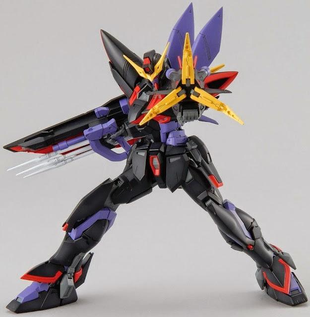 Blitz Gundam MG 1/100 cho phép tái tạo bất kỳ cảnh nào của trận chiến