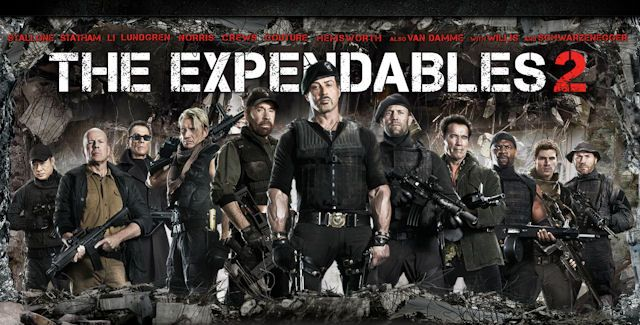 Re: Expendables: Postradatelní 2 / The Expendables 2 (2012)