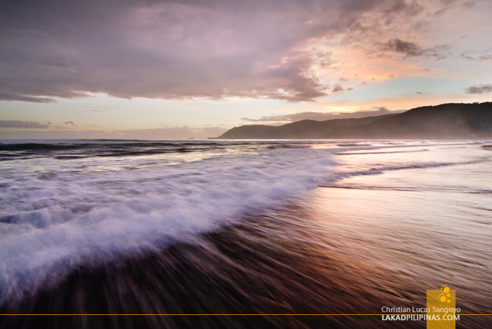Catching the Waves at Baler, Aurora