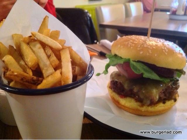 burgerworks Worcester Smokey Burger