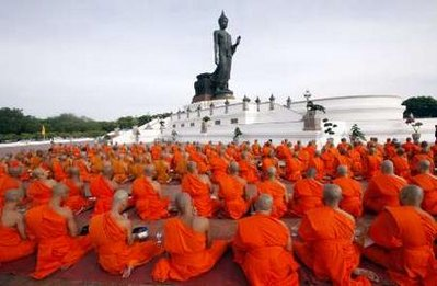 Buddhist Lent Rains Retreat Begins Image