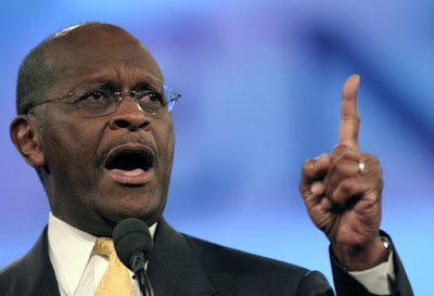 Republican Herman Cain says he was accused of sexual harassment
