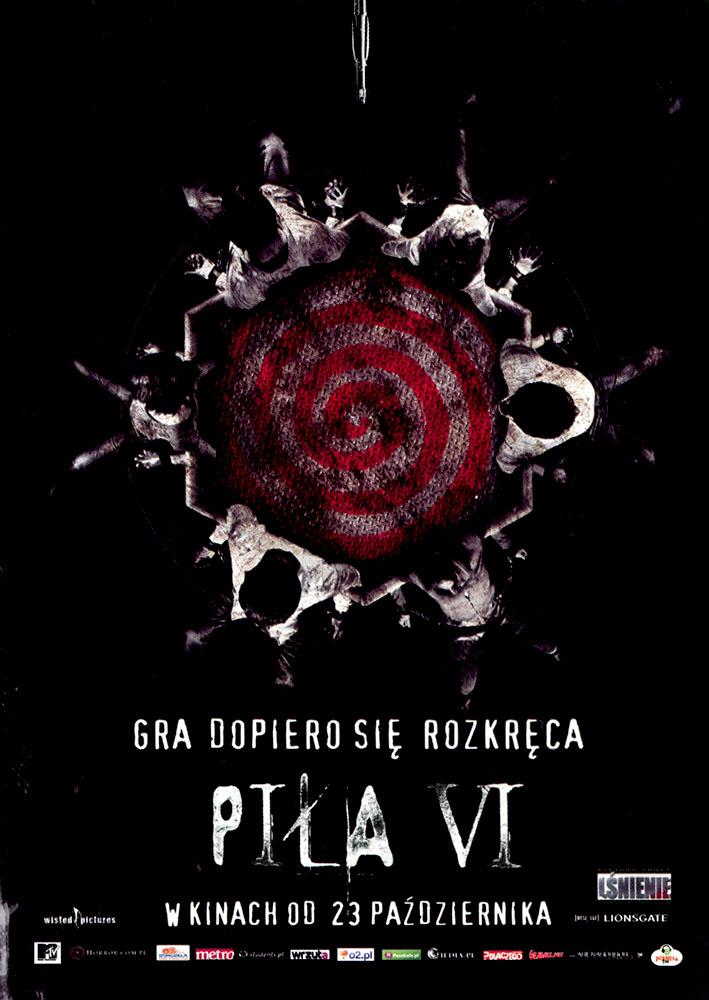 Ulotka filmu 'Piła VI (przód)'