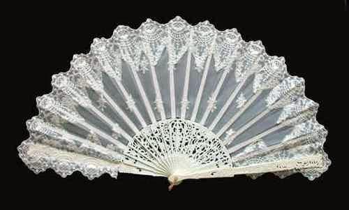 Wedding hand fan