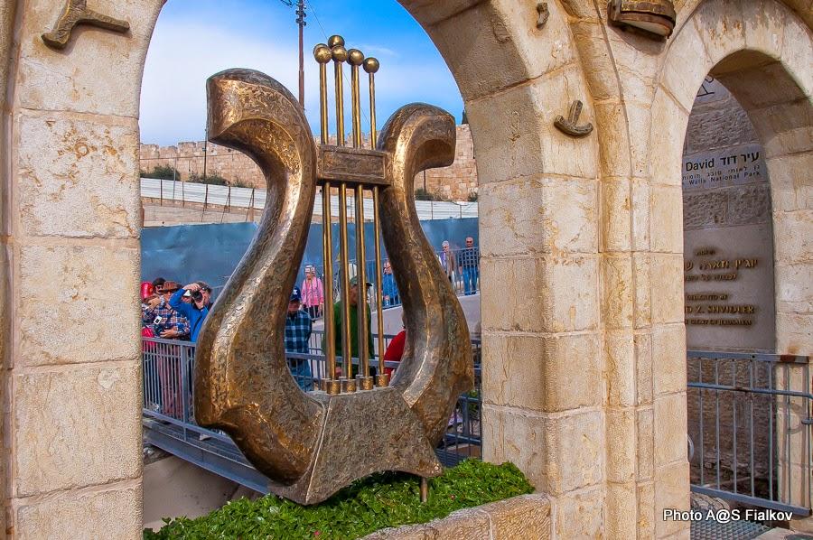 фоторепортаж об экскурсии в город Давида и окрестности Иерусалима