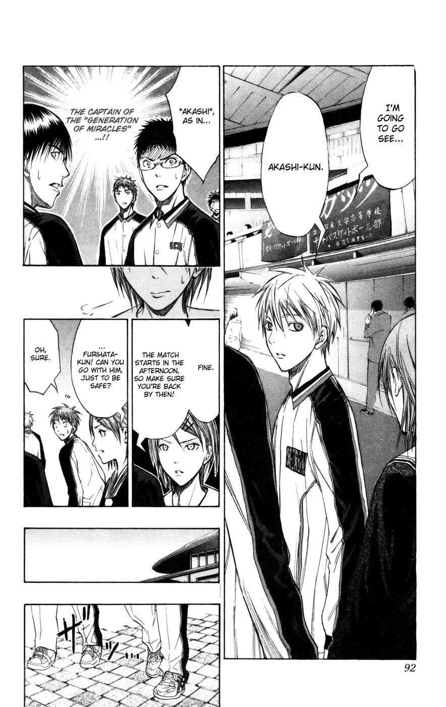 Kuroko no Basket Manga Chapter 113 - Image 05
