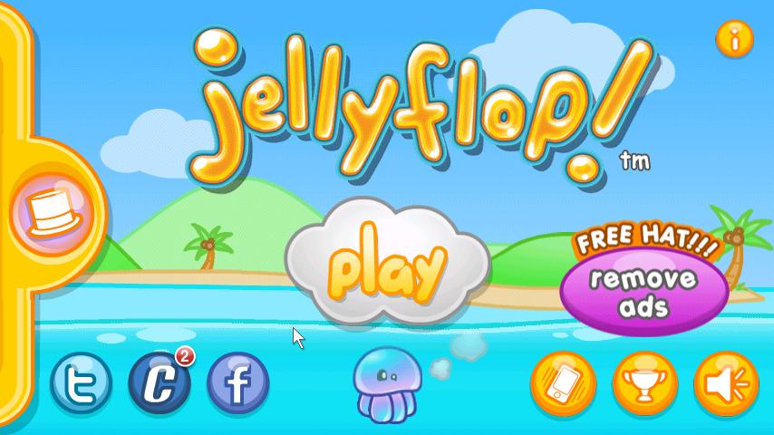 Jellyflop! | เกมส์ กระพรุนน้อยอยากบิน | โหลดเกมส์แอนดรอยด์ฟรี