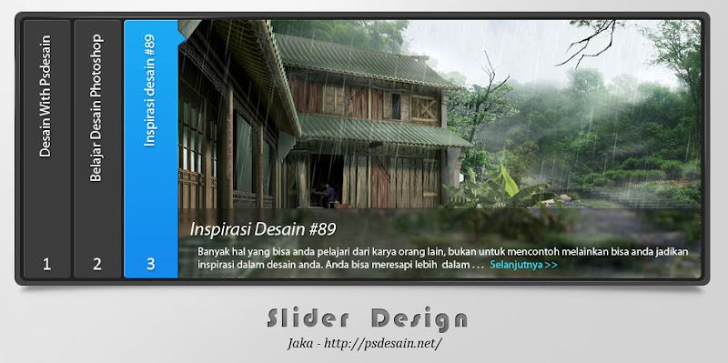 Desain Slider